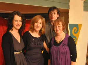 Laura McGuire, Enda Coyle Green, Darren Hughes, Marie Bashford-Synnott