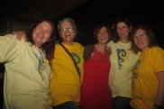 Eleanor McEvoy and Soundwaves volunteers