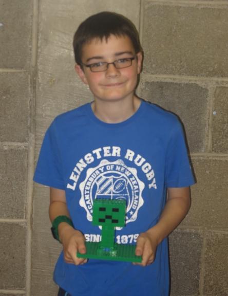 Lego Minecraft Prize Winner