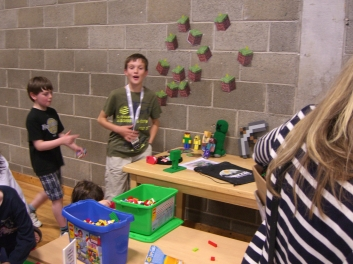 Minecraft mini exhibition