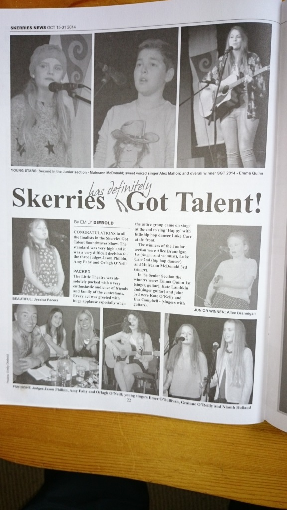 Get your copy of Skerries News in Skerries Tourism Office (back numbers) and all around Skerries (current issue).
