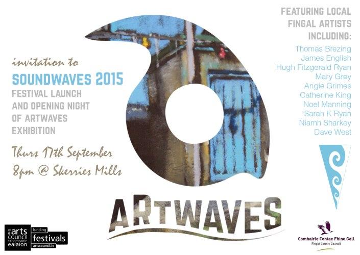Soundwaves Launch Invitation