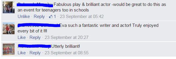 Saoirse Facebook Comments