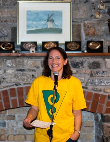 Gráinne Enright, chairperson, Soundwaves. Photograph: Marie Byrne, Skerries Camera Club