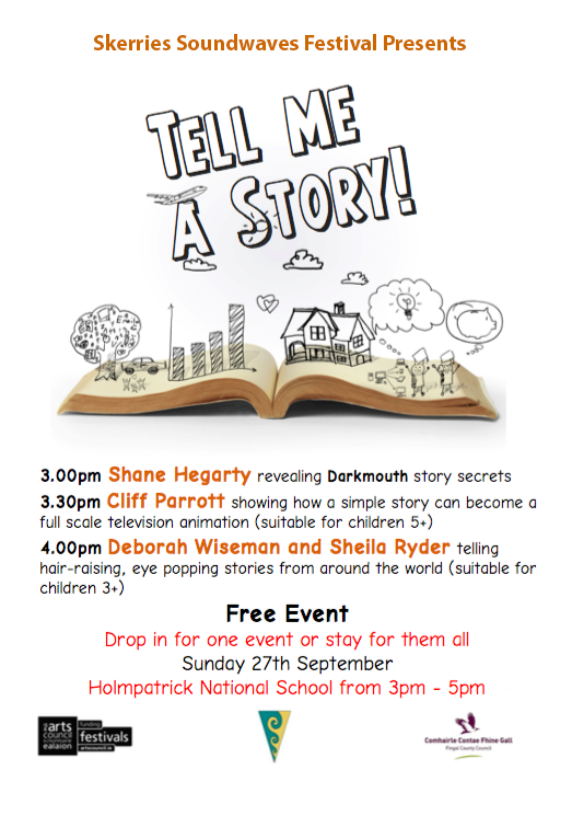 tell me a story flyer